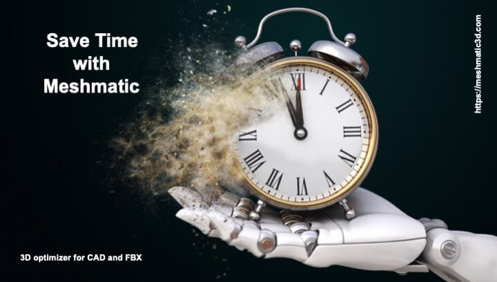 Save time with Meshmatic and optimize 3D content