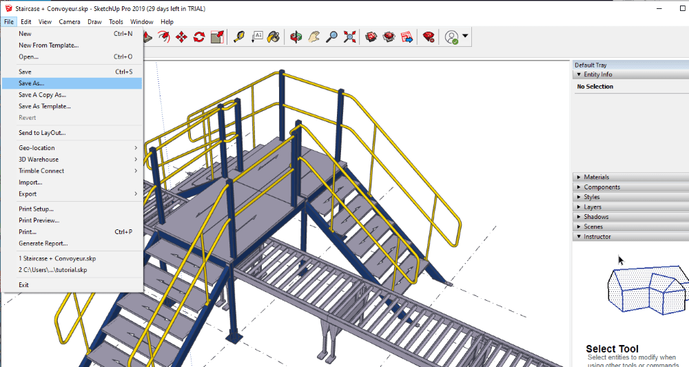 Sketchup-save-as