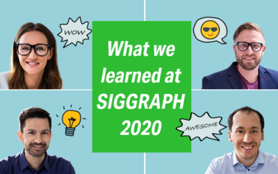 3 key takeaways from SIGGRAPH 2020 virtual conference