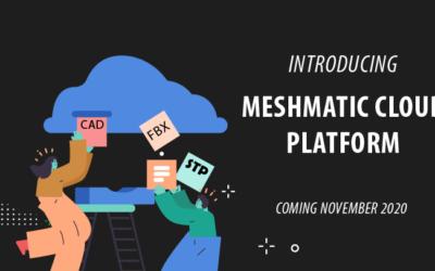 New: Introducing Meshmatic Cloud Platform: CAD optimization in minutes