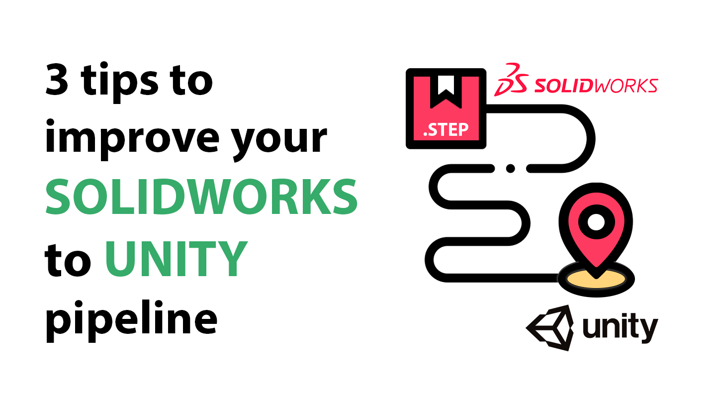 Solidworks STEP to Unity